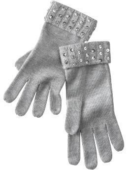 Gap Sequin gloves