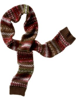 Gap Colorful fairisle scarf